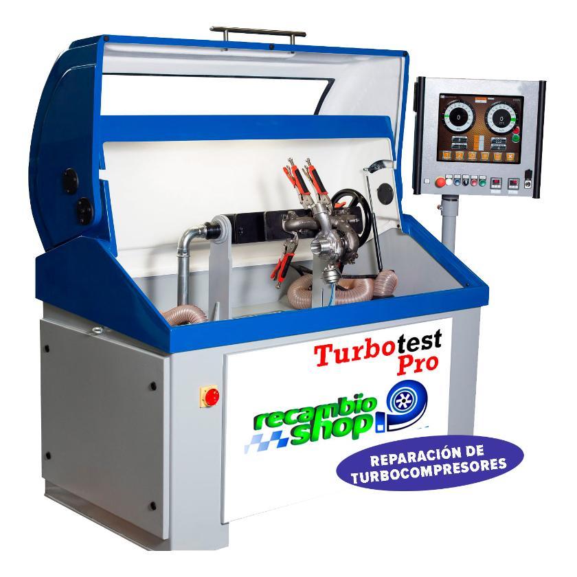 Reparación de turbo en Recambioshop