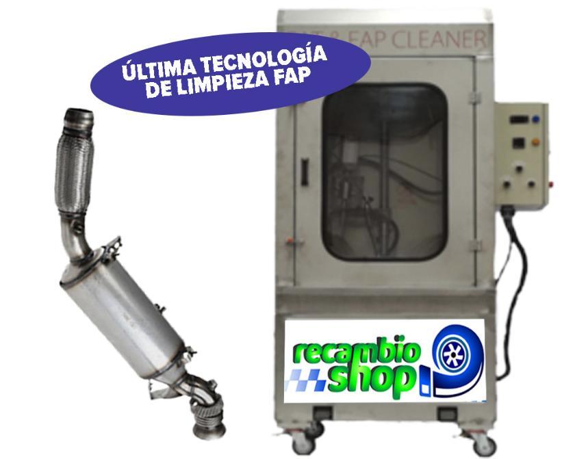 Limpieza de filtro de partículas en Sevilla, Granada, Madrid, Valencia, comprometidos a nivel nacional, Recambioshop