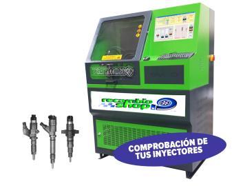Reparación y limpieza de inyectores para toda España